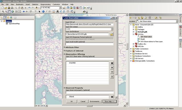 GeoProcessing tool
